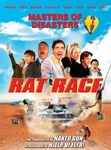 دانلود دوبله فارسی فیلم کمدی رانندگان دیوانه Rat Race 2001