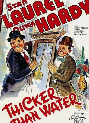 دوبله فارسی فیلم کمدی گل آلود کردن آب Thicker Than Water 1935