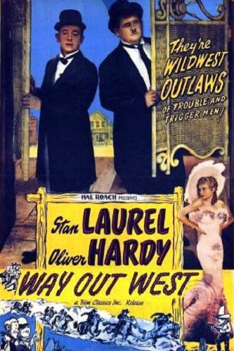 دانلود دوبله فارسی فیلم به سوی غرب Way Out West 1937