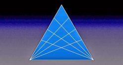 تست هوش تصویری آسان شمارش مثلث ها (۰۲) + جواب
