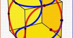 تست هوش تصویری جدید خطوط مکعب + با جواب