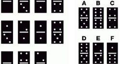 تست هوش تصویری سرگرم کننده قطعات دومینو + جواب