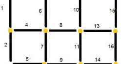 تست هوش تصویری جدید مربع و چوب کبریت (۰۱) + با جواب