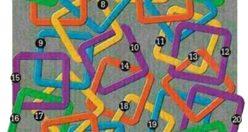 تست هوش تصویری حلقه های مربعی جالب و مهیج + جواب