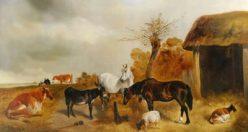 معمای تفکربرانگیز سه مرد روستایی و حیوانات + جواب