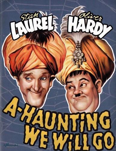 دوبله فارسی فیلم کمدی شعبده باز A-Haunting We Will Go 1942