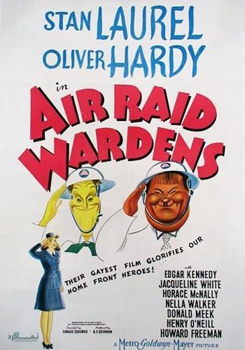 دانلود رایگان دوبله فارسی فیلم کمدی Air Raid Wardens 1943