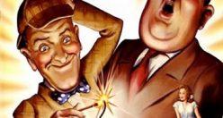 دانلود دوبله فارسی فیلم کمدی صدای بلند The Big Noise 1944