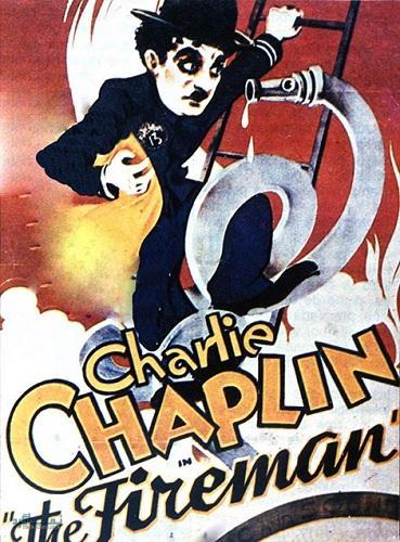 دانلود رایگان فیلم کوتاه کمدی آتشنشان The Fireman 1916