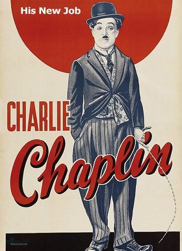 دانلود رایگان فیلم کمدی شغل جدیدش His New Job 1915