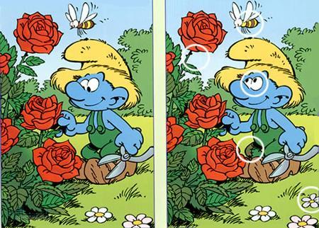 تفاوت های دو تصویر جدید (59) - جواب تست 2