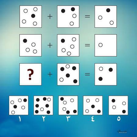 تست هوش جالب و هیجانی حدس گزینه صحیح(05) + با جواب