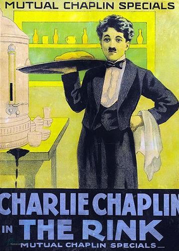 دانلود زبان اصلی فیلم کمدی سرسره بازی The Rink 1916