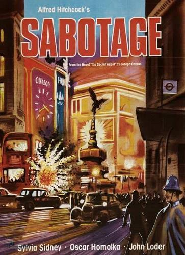 دانلود دوبله فارسی فیلم خارجی خرابکاری Sabotage 1936