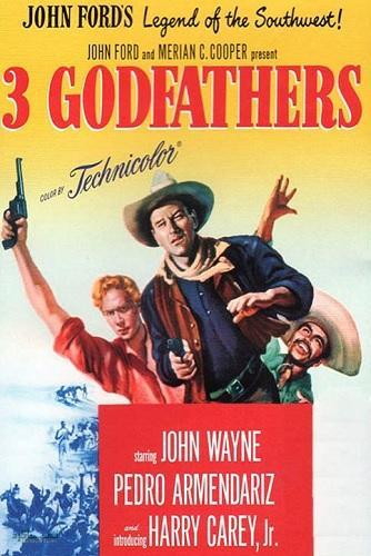 دانلود دوبله فارسی فیلم سه پدرخوانده Three Godfathers 1948