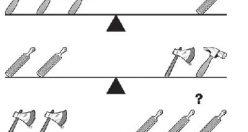 تست هوش تصویری تعادل ابزارها + جواب