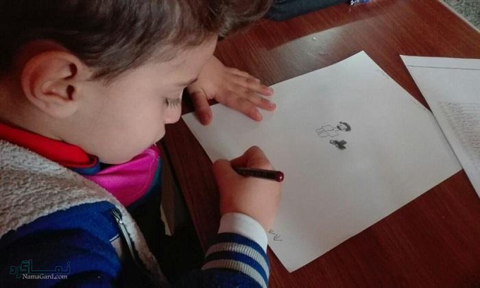 تست هوش گودیناف(آزمون آدمک) برای کودک + تفسیر آن