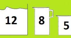 معمای تفکربرانگیز ظرف های شیر + جواب