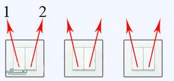 جواب معمای سخت لامپ و کلید دو پل 2