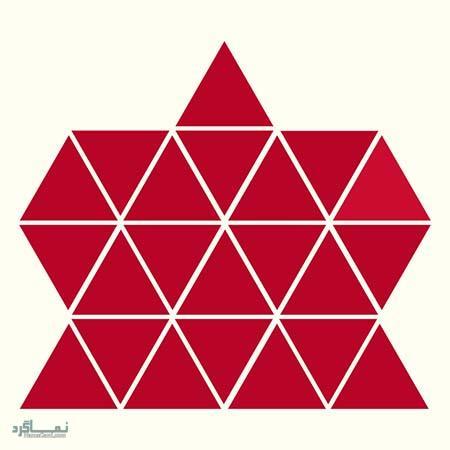 15 تست هوش بینایی رنگ مثلث ها(11) - تست 9
