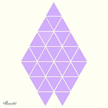 15 تست هوش بینایی رنگ مثلث ها(11) - تست 13