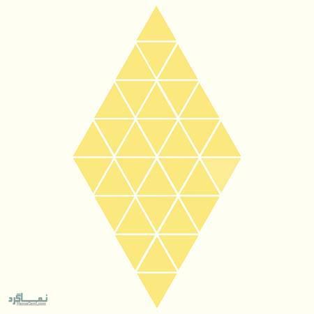 15 تست هوش بینایی رنگ مثلث ها(11) - تست 14