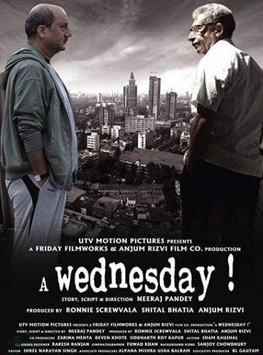 دانلود دوبله فارسی فیلم هندی یک چهارشنبه A Wednesday 2008