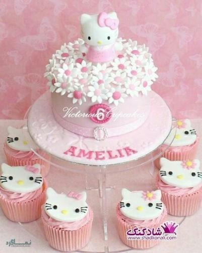 عکس های کیک تولد زیبای جدید