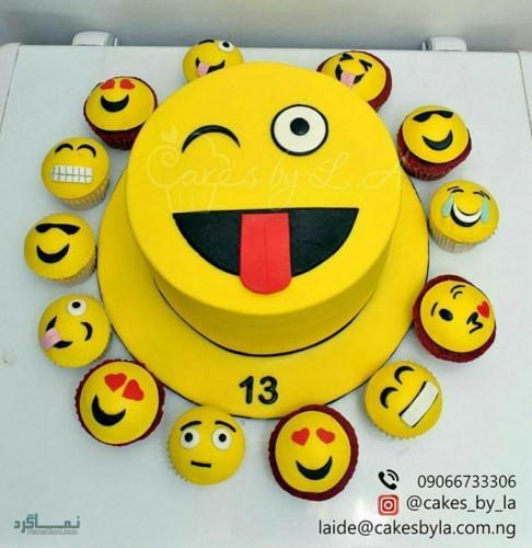 عکس های کیک تولد زنانه قشنگ
