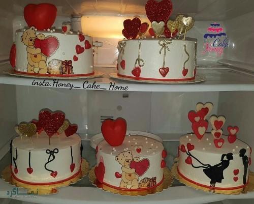 عکس های کیک تولد لاکچری خاص