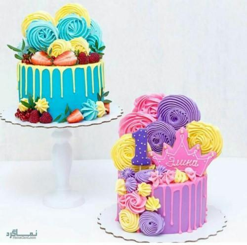 عکس های کیک تولد 2021 متفاوت