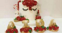 عکس کیک تولد جدید زنانه + انواع کیک تولد ناب جدید (۲)