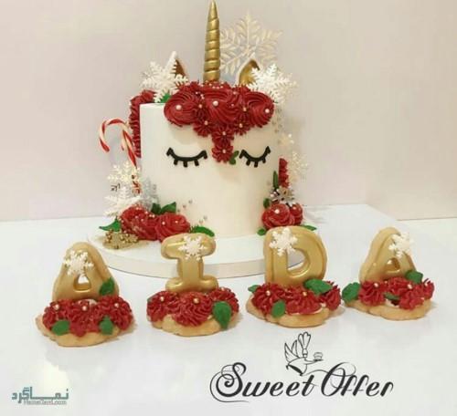 عکس کیک تولد جدید زنانه