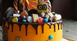 عکس کیک تولد جدید شیک + انواع کیک تولد ناب جدید (۵)