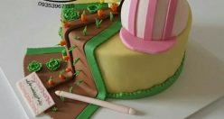 عکس کیک تولد جدید دخترانه + انواع کیک تولد ناب جدید (۷)