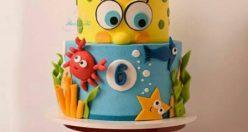 عکس کیک تولد جدید برای همسر + انواع کیک تولد ناب جدید (۶)