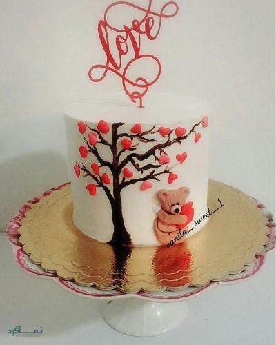 عکس کیک تولد جدید شیک