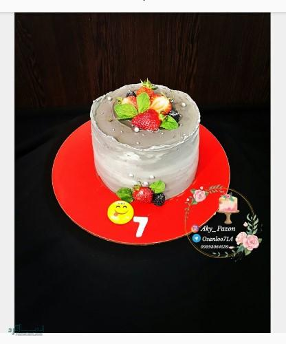 عکس های کیک تولد دخترونه زیبا