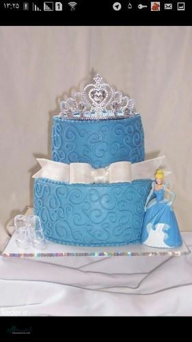 عکس های کیک تولد زنانه جذاب