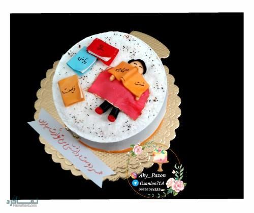 عکس های کیک تولد دخترونه شیک
