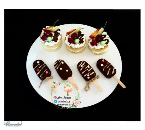 عکس های کیک تولد دخترونه باکلاس