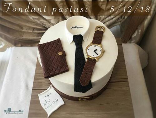 عکس کیک تولد خاص مردانه