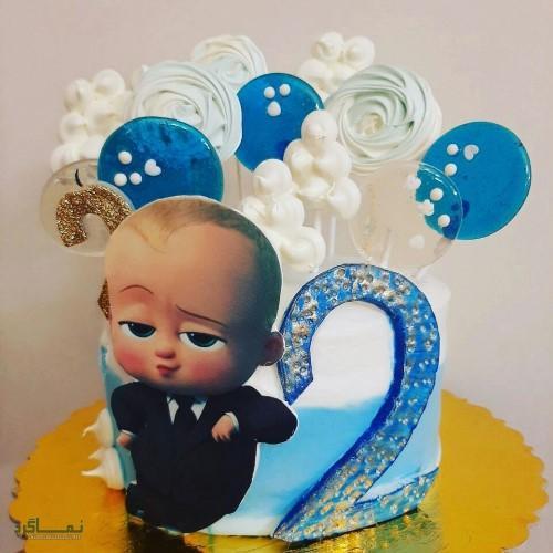 عکس کیک تولد خاص عاشقانه