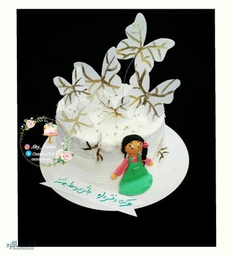 عکس کیک تولد خاص دخترونه