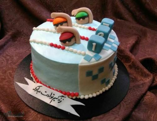 عکس های کیک تولد لاکچری باکلاس