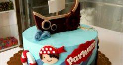 عکس کیک تولد مردانه لاکچری + مدل های زیبا و شیک کیک تولد (۸)