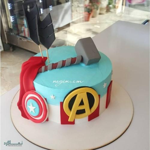 عکس های کیک تولد پسرانه متفاوت