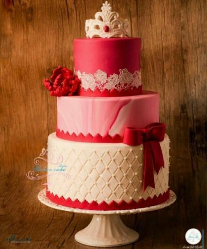 عکس کیک تولد زنانه لاکچری