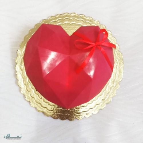 عکس کیک تولد عاشقانه لاکچری