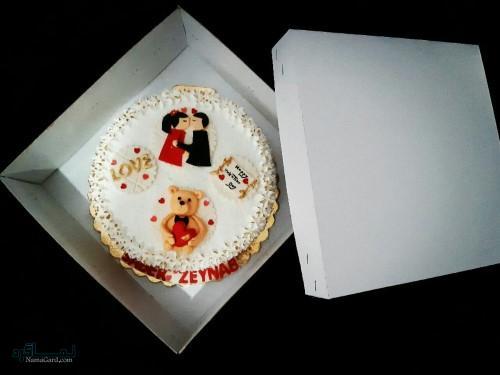 عکس کیک تولد دخترانه لاکچری
